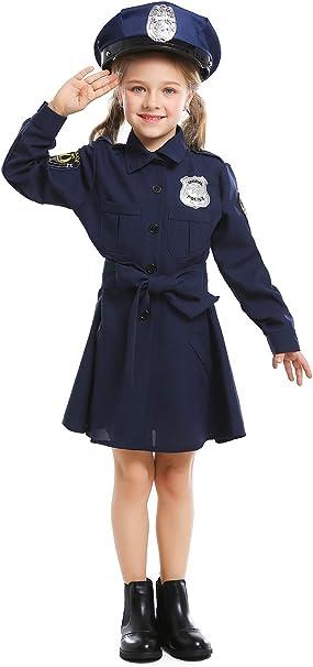 Chicas Halloween Disfraz de policia Juego de rol Cop Costume ...