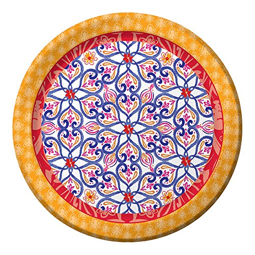 Creative Converting 8 Count Sturdy Style Banquet Plate, 10