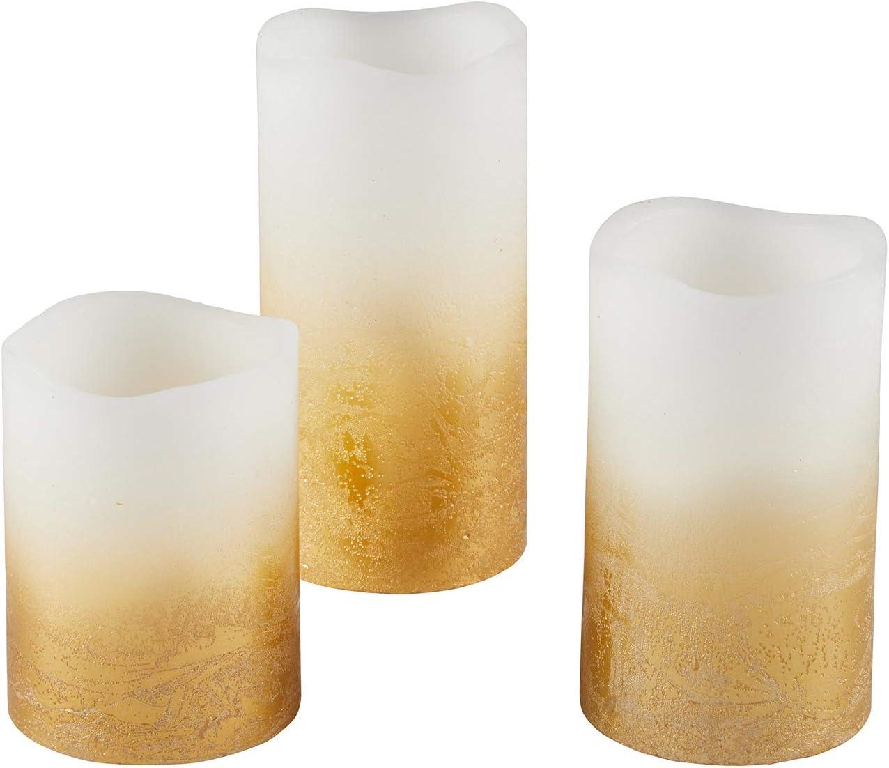 PILLAR HANDMADE GLOW IN DARK BRIGHT MULTI-COLOR+WHITE TRIM DESIGN CANDLE+BOX-#74