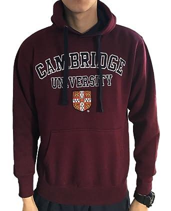Sudadera con capucha oficial de la universidad de Cambridge - Borgoña - ropa oficial de la universidad famosa de Cambridge: Amazon.es: Ropa y accesorios