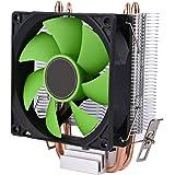 CPU冷却ファン VBESTLIFE CPUクーラー 90mm 3ピンファン CPUクーラーヒートシンク 30,000h超長寿命 耐摩耗性 超耐久性 低ノイズ AMD AM2 / AM2 + / AM3 Intel LGA775 / 1156/1155適用