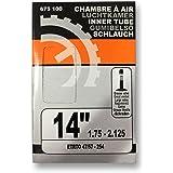 Sixsept Réf 675100 Chambre 14 pouces x 1.75 - 2.125 ETRTO 47/57 - 254 Schrader grosse valve