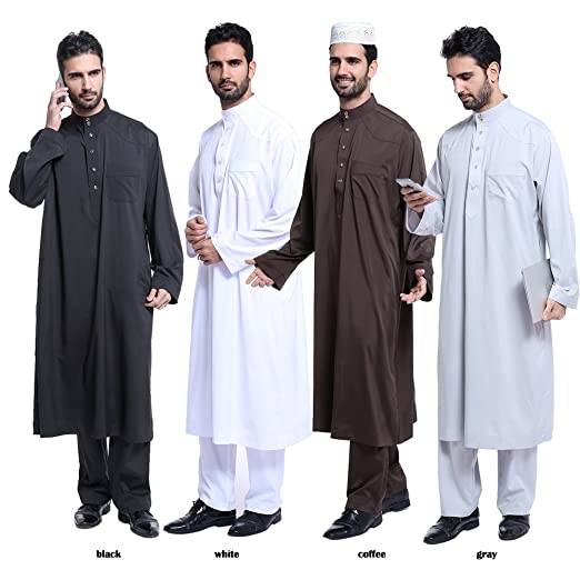 Why do Muslims wear robes?