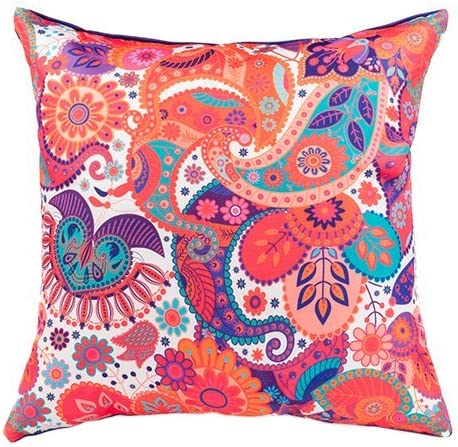 45cm Outdoor Water Resistant Scatter Cushion Garden Sultan Ethnic 18/""