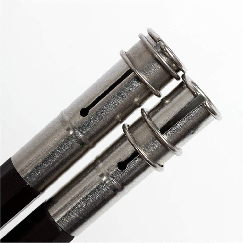13,5 x 1 cm Set di 2 estensori per matite a Doppia Testa Mackur Utilizzabile su Entrambi i Lati