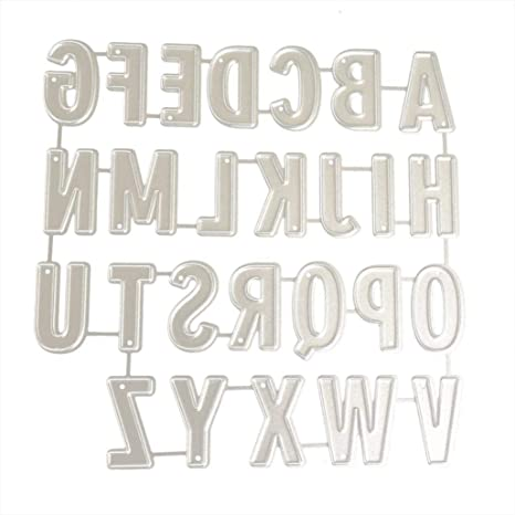 English letter carbon steel cutting dies for DIY scrapbook//album decoration