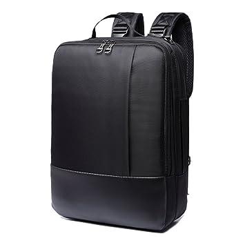 super-bab bolsa para ordenador portátil, al hombro, estilo casual, para Hombre negro: Amazon.es: Electrónica