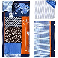 Lambs & Ivy Soho Jungle 3-Piece Baby Boy Crib Bedding Set