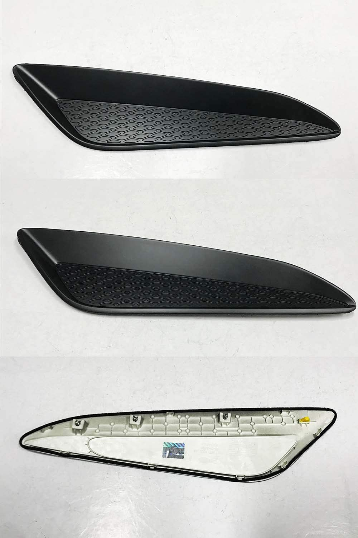 Genuine Bonnet Hood Garnish Vent 2p For 2013 2016 Hyundai Genesis Coupe