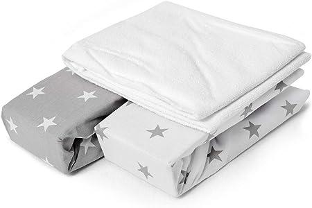 drap housse lit bébé Nouveau Imperméable Terry Serviette Matelas Protecteur 70 x 140 cm