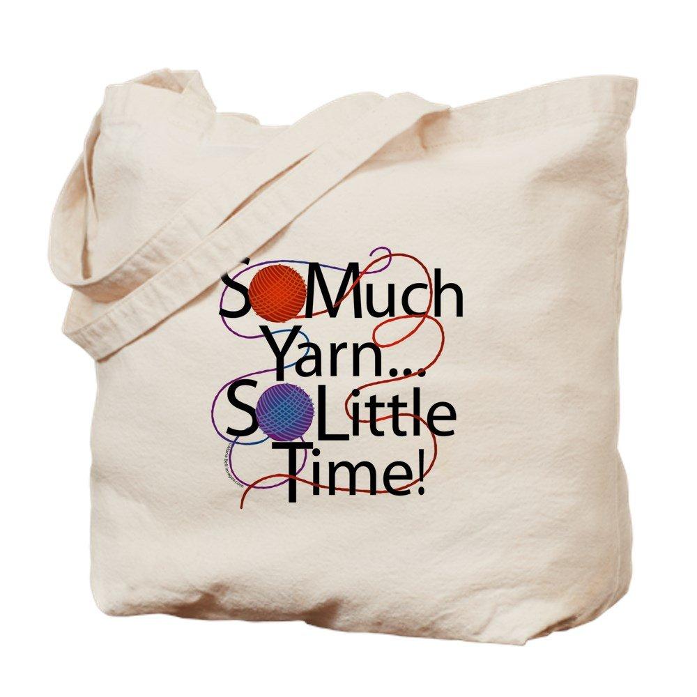 CafePress – So Much糸。。。。。 – ナチュラルキャンバストートバッグ、布ショッピングバッグ B01JN8MTKI
