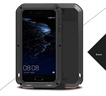 size 40 4f1e1 c1778 Huawei P10 Waterproof Case, Love Mei Shockproof Dust/Dirt/Snow Proof  Aluminum Metal Protective Case Cover for Huawei P10 5.1