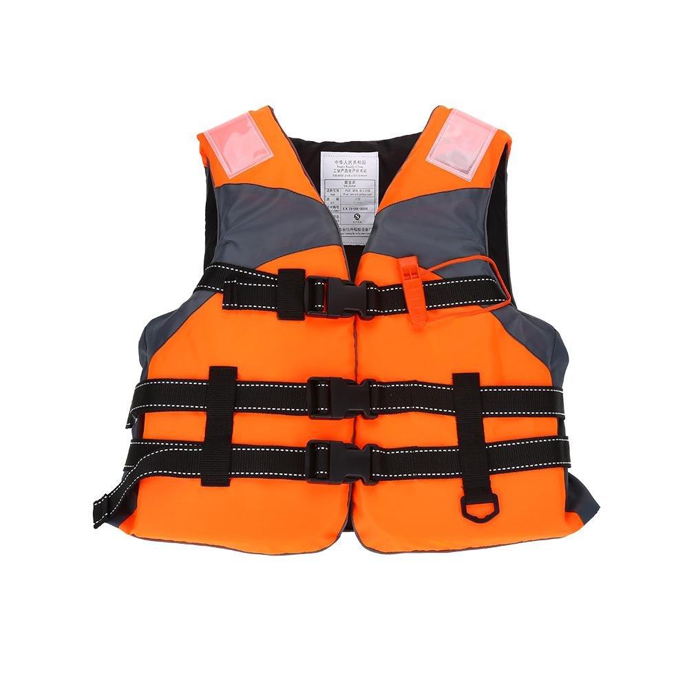 【楽天カード分割】 子ライフベスト B07BDM49GG、調節可能な子供ライフジャケットホイッスル付きアウトドア水泳ボートラフティング オレンジ オレンジ B07BDM49GG, 【パピ通】パピルス:568d9afd --- a0267596.xsph.ru