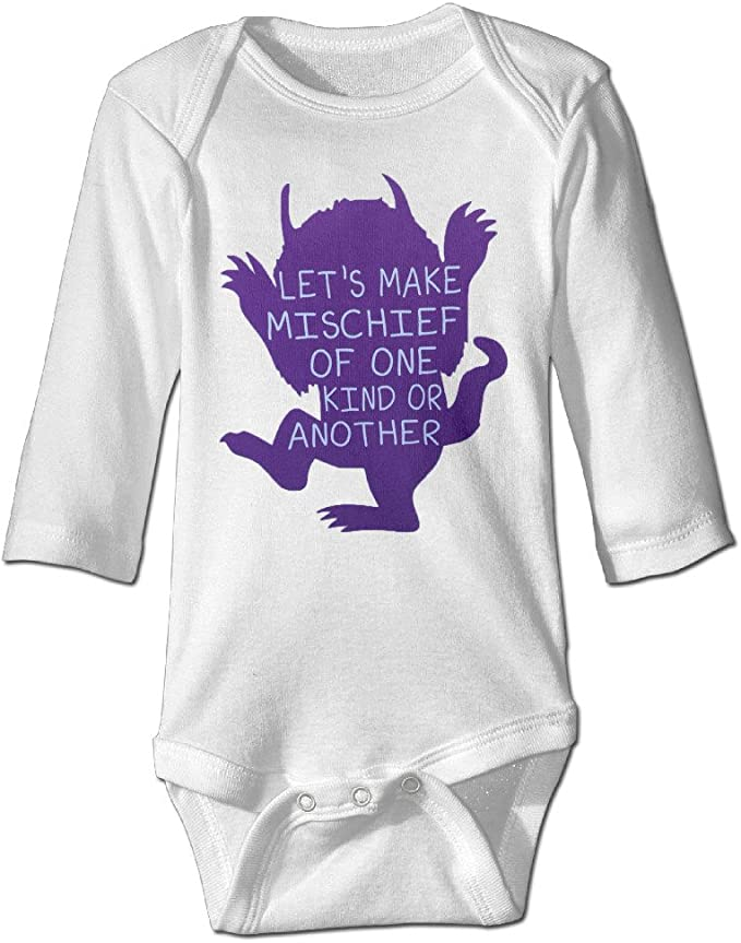 Lovely Baby For 6-24 Months Newborn Baby Cartoon Wild Long Sleeve White