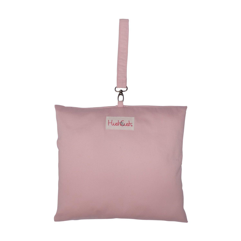 HushCush Nursing Pillow, Pink Bebelephant