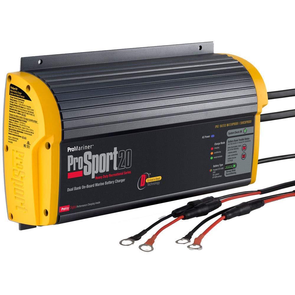 Promariner Prosport 20 PFC Chargeur de Batteries Marin