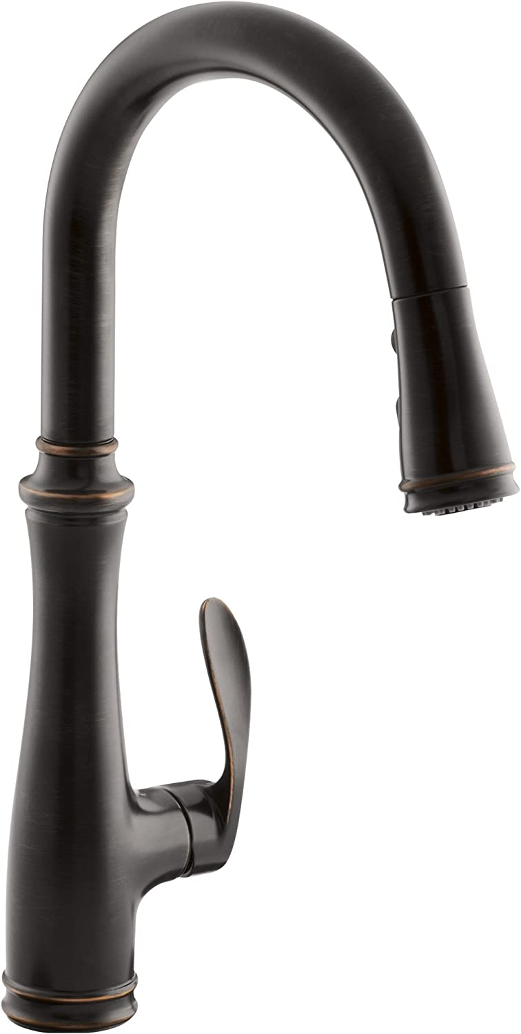 KOHLER K-560-2BZ Bellera Kitchen Faucet, Oil-Rubbed Bronze