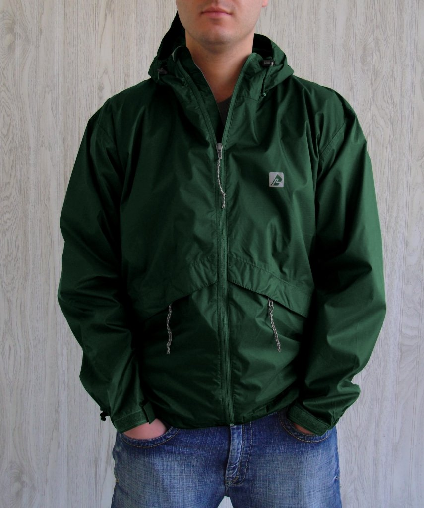Xx-Large AO80EM7 Emerald Red Ledge Unisex Adult Thunderlight Jacket