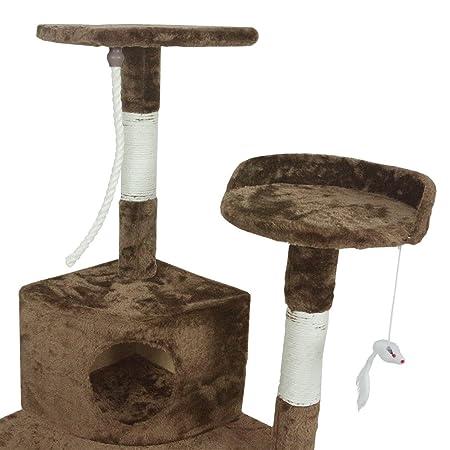Amazon.com: Árbol para gatos Pet Palace, torre de ...