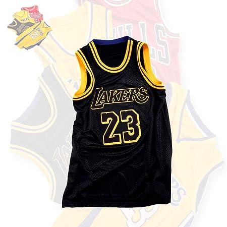 HSWU-DRESS NBA L.A.Lakers Lebron James # 23 Camiseta de ...