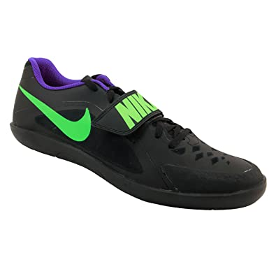 NIKE Zoom Rival SD Shot Put Discus Track Shoes Mens Size 5 (Black, Green