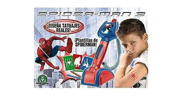 Spider-Man SPIDERMAN 3 CENTRO DE TATUAJES: Amazon.es: Juguetes y ...