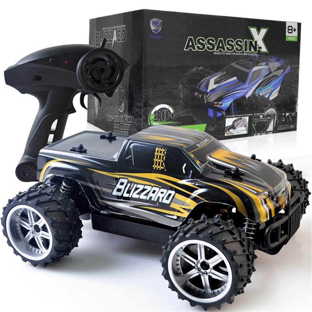 Zzh Off-Road-Kletterfernregelung Speed-Car 2.4G 1:16 700mAh Ladespielzeug Auto Offroad-Kletter-Rennmodell