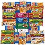 Healthy Bars, Nuts & Crackers Snack Pack Assortment by Variety Fun (Care Package 36 Count)