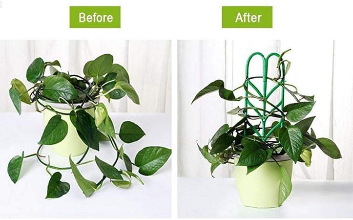 Uyuke 3PCS DIY Garden Trellis Climbing Plants Support Plastic ...