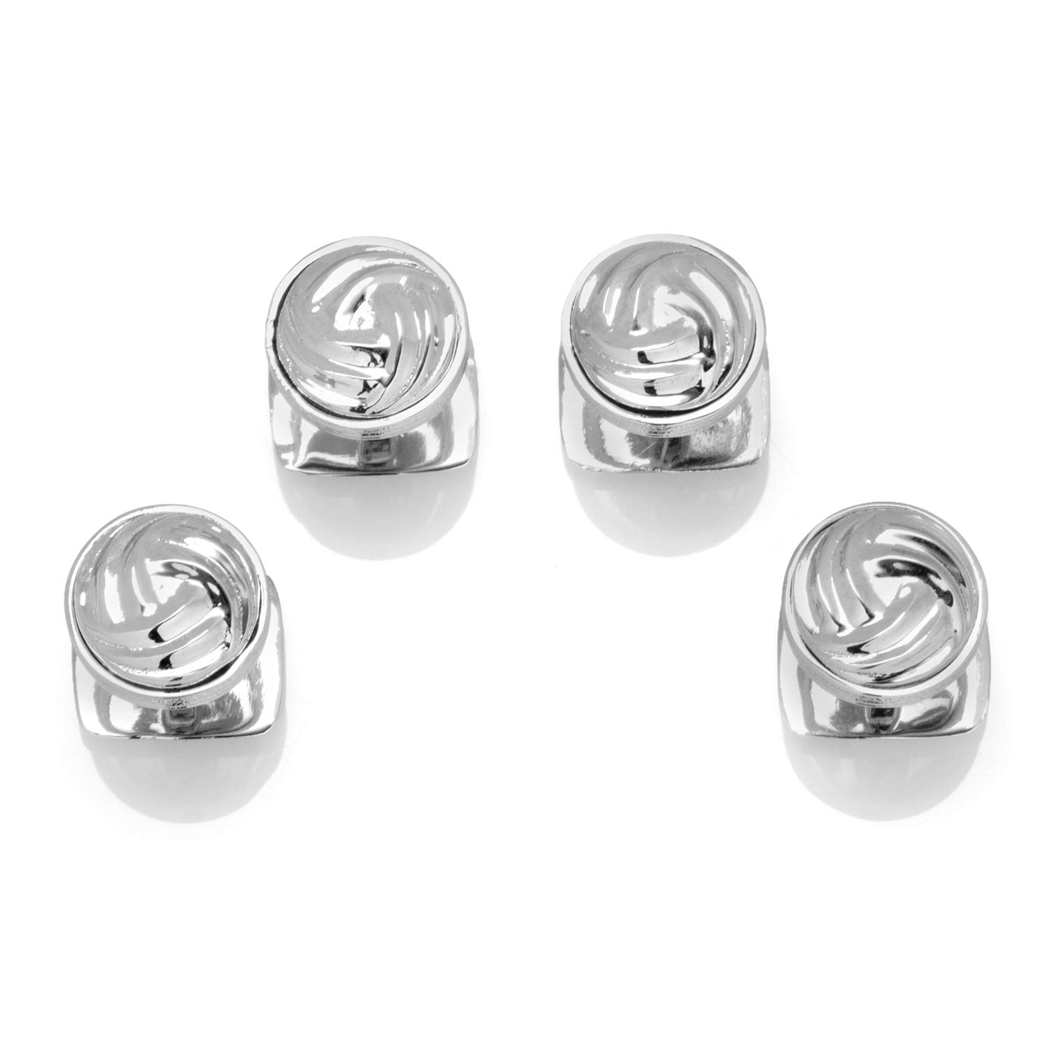 Ox and Bull Trading Co. Modern Knot Sterling Silver Studs