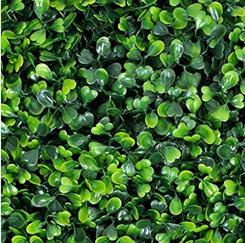 (Naturalgarden Artificial Hedges Panels for Both Outdoor or Indoor, Garden, Fencing, Backyard and Home UV Resistant Decor 20