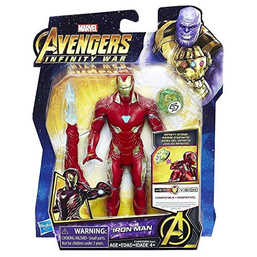 Marvel Avengers: Infinity War Iron Man with Infinity Stone