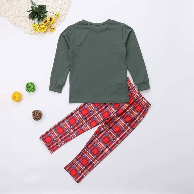a547cb083b Amazon.com  FEDULK Family Matching Clothes Christmas Pajamas Holiday Sleepwear  Nightwear Xmas Pjs Sets  Clothing