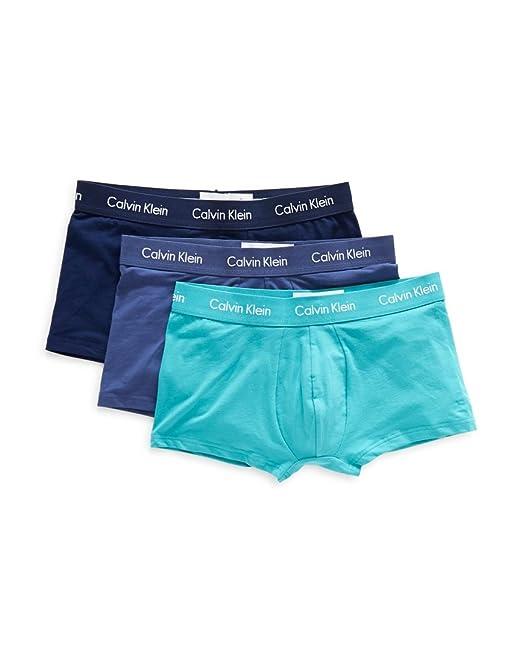 Calvin Klein Bóxer U2664G_TRIPACK Hombre Color: Azul Talla: M