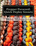 Prepper Paracord, Mr. Todd Mikkelsen, 149470529X