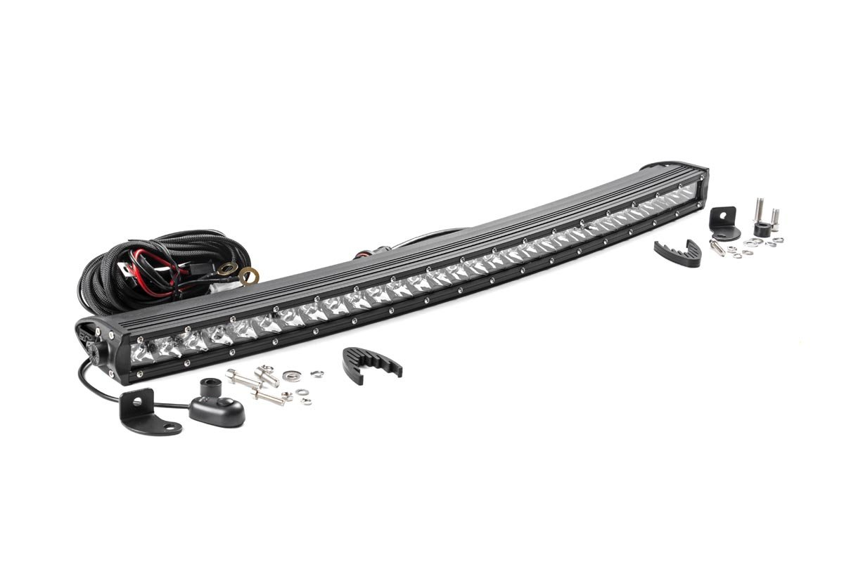 Amazon rough country 72730 30 inch chrome series single row amazon rough country 72730 30 inch chrome series single row curved cree led light bar for anywhere you can mount it automotive aloadofball Choice Image