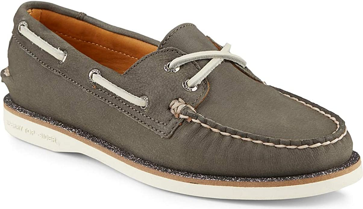 sperry gold glitter boat shoes