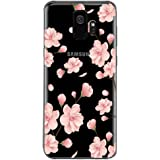 Case for Galaxy S9,Floral Pattern Clear Soft TPU thin Phone case For S9