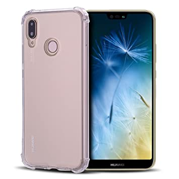 Anfire Funda Huawei P20 Lite, Carcasa de Transparente y Suave Silicona Case para Huawei P20 Lite, Flexible Gel TPU [Esquinas Reforzadas] Bumper Caja ...