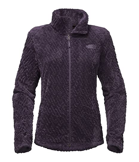 37cb642736d9 The North Face Women s Novelty Osito Jacket - Dark Eggplant Basketweave  Embossed - M (Past