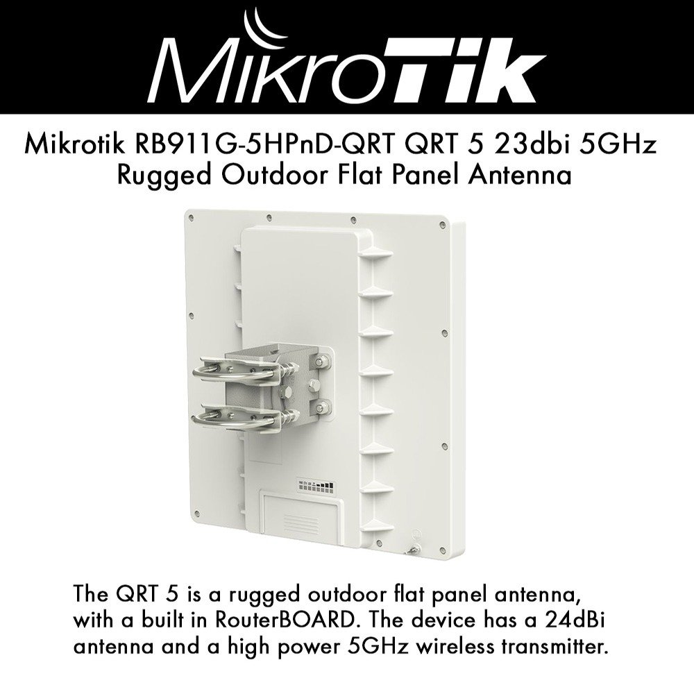Mikrotik RB911G-5HPnD-QRT QRT-5 Wireless System