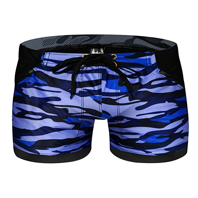 1b21eaee1703c Mens Summer Swimwear Casual Animal Printed Surf Shorts Holiday Beach Swim  Trunks with Mesh Lining (