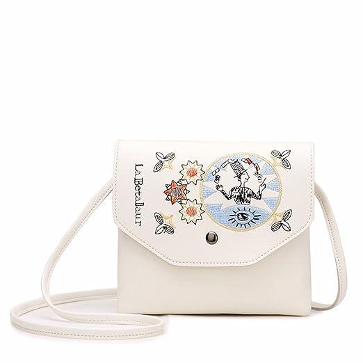 0aef5321d4245 BMKWSG Frauen Handtaschen Fashion Handtaschen für Frauen Einfache PU-Leder  Schulter Taschen Messenger Tote Taschen