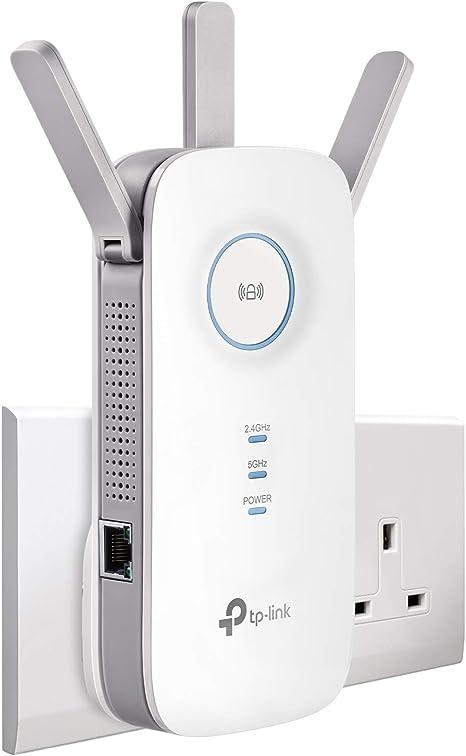 TP-LINK Wall Plug Universal Wi-Fi Range Extender with 2 x Internal Antennas