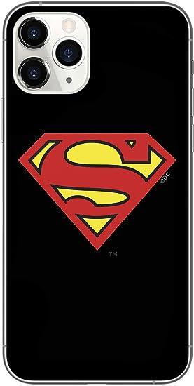 ERT DC Comics WPCSMAN509 Coque Superman pour iPhone 11 Pro Noir