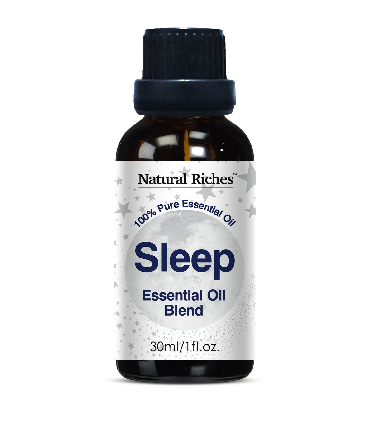 Aromatherapy Good Night Sleep Calming Blend Essential Oils -30ml 100% Pure and Natural Therapeutic Grade for Natural Sleep Aid, Relaxation, Stress, Anxiety Relief, Boost Mood and Helps Depression