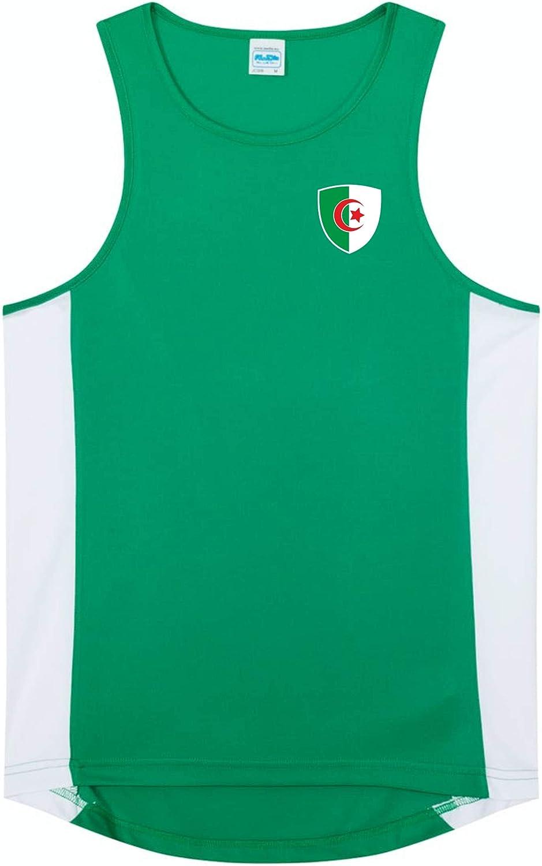 Nation Algerien Debardeur De Gym Ath Br Gr Homme Vetements