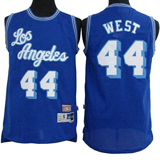 Camiseta para Hombre -NBA Jerry West # 44 Los Angeles Lakers ...