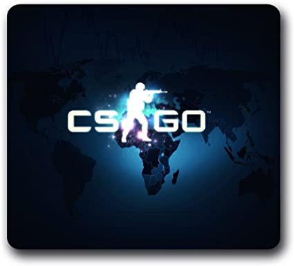 Ratón para videojuegos Counter Strike: Global Offensive neopreno antideslizante, Csgo 10 Inch * 9inch agua Resisitant ratón almohadillas