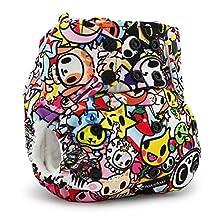 Kanga Care Rumparooz Cloth Pocket Diaper - Snap - Tokijoy, Multi, One Size